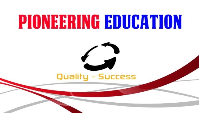 Pioneering education