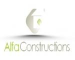 Ιστοσελίδα Alfa Constructions - Ανακαινίσεις