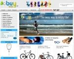 Ηλεκτρονικό κατάστημα για ποδήλατα και είδη γυμναστικής