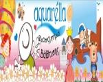 Προσκλητήρια γάμου βάπτισης - Aquarella