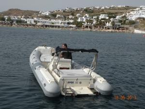 Ενοικίαση σκάφους στη Μύκονο